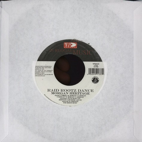 Morgan Heritage  - Raid rootz dance / Nothing to smile about