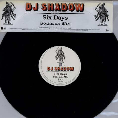 DJ Shadow - Six Days Soul Wax Remix