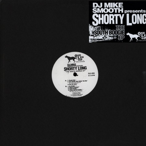 DJ Mike Smooth Presents Shorty Long - The South Boogie EP