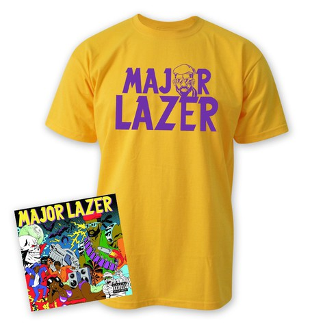 Major Lazer - Guns Don't Kill People … Lazers Do HHV Bundle