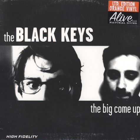 Black Keys, The - The big come up orange vinyl