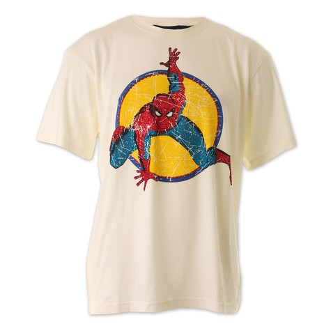 New Era x Marvel - Spiderman Character Name T-Shirt