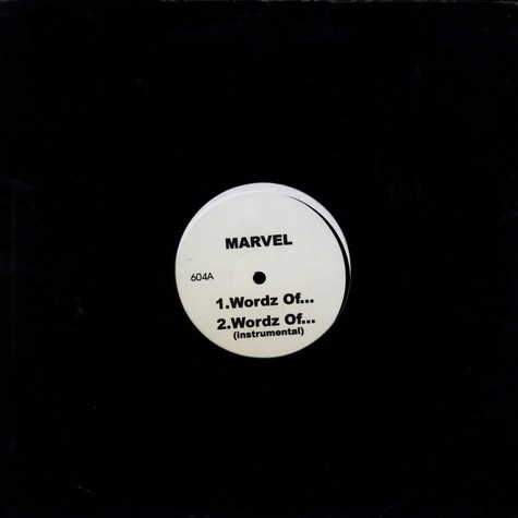 Marvel / Saukrates - Wordz of... / Kalifornia
