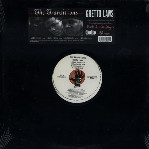 Transitions, The - Ghetto laws