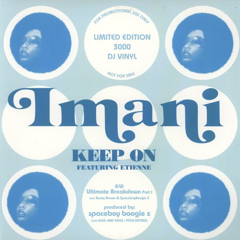 Imani of The Pharcyde - Keep on