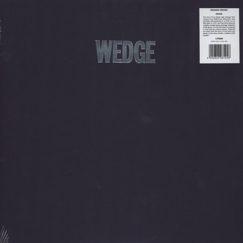 Orange Wedge - Wedge