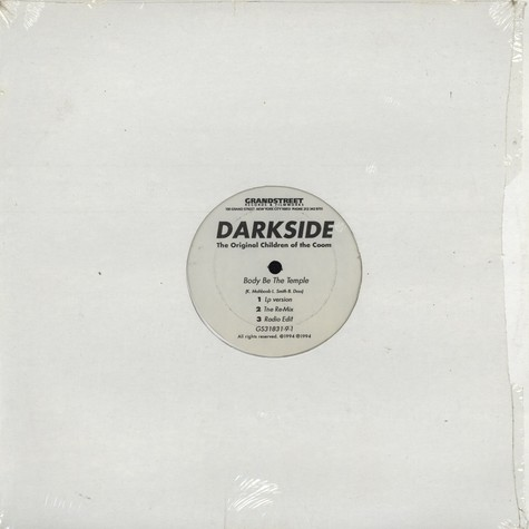 Darkside - Body Be The Temple