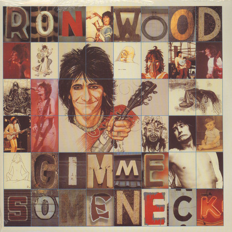 Ron Wood (Rolling Stones) - Gimmie Some Neck