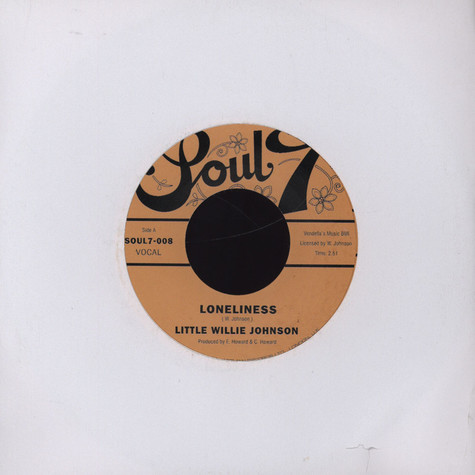 Little Willie Johnson  - Loneliness
