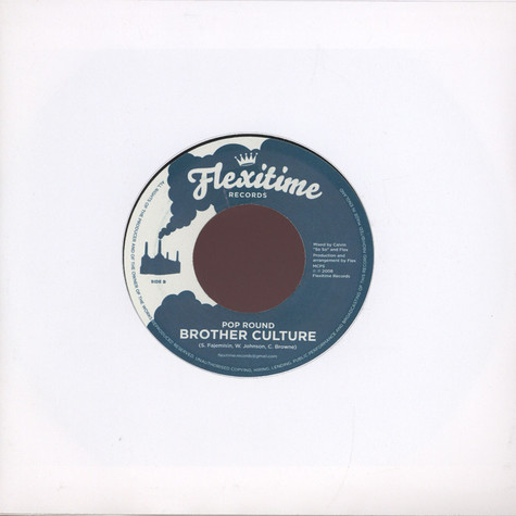 Tippa Irie / Brother Culture - Get Away / Pop Round