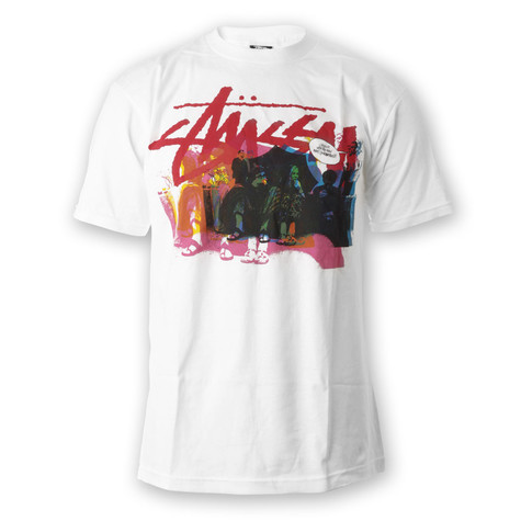 Stüssy - New Beat Color Pull T-Shirt