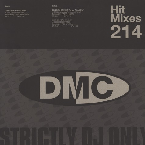 DMC Hit Mixes - Volume 214