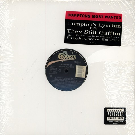 Comptons Most Wanted - Compton's lynchin