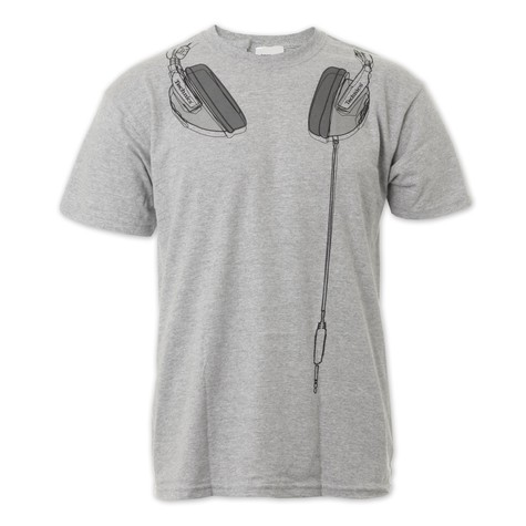 DMC & Technics - Technics Headphones T-Shirt