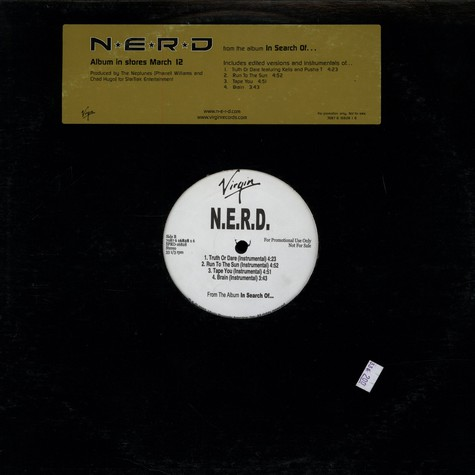 Nerd - In Search Of...(Album Sampler)