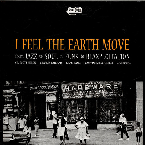 V.A. - I Feel The Earth Move (From Jazz To Soul 'n' Funk To Blaxploitation)