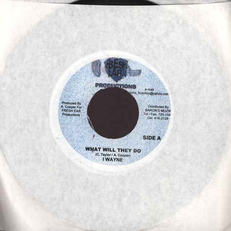 I Wayne / Christopher Martin  - What Will They Do / Watch Me Lord