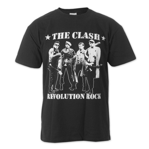 Clash, The - Band Figures T-Shirt