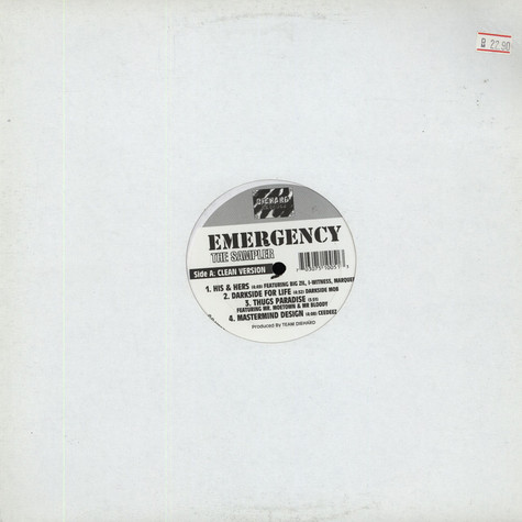 V.A. - Emergency The Sampler