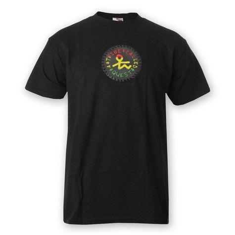 A Tribe Called Quest - Medallion On Black T-Shirt