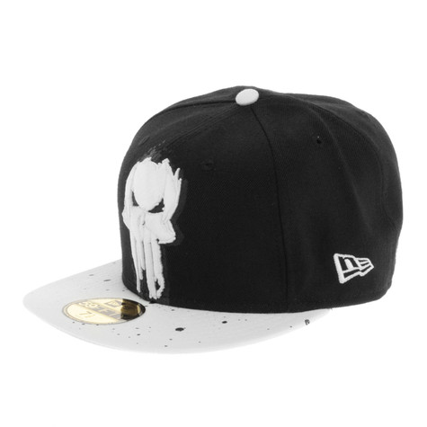 New Era x Marvel - Painted Punisher Official Cap