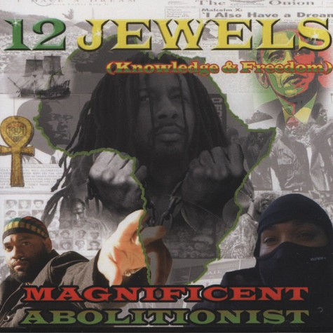 Magnificent Abolitionist - 12 Jewels (Knowledge & Freedom)