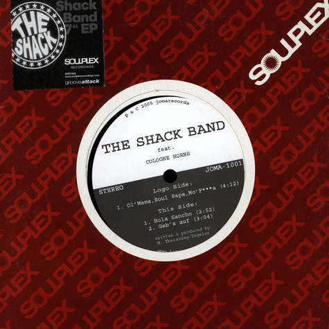 Shack Band, The - The Shack Band EP