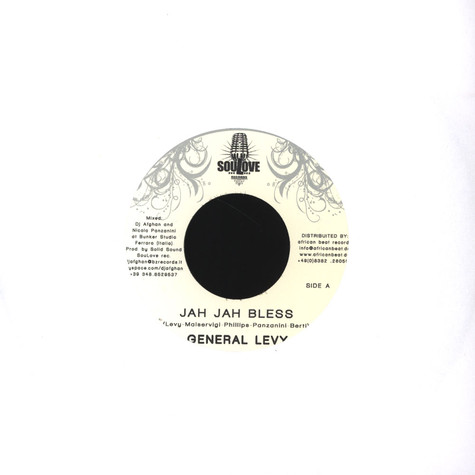 General Levy / ASK - Jah jah bless / Burning Babylon