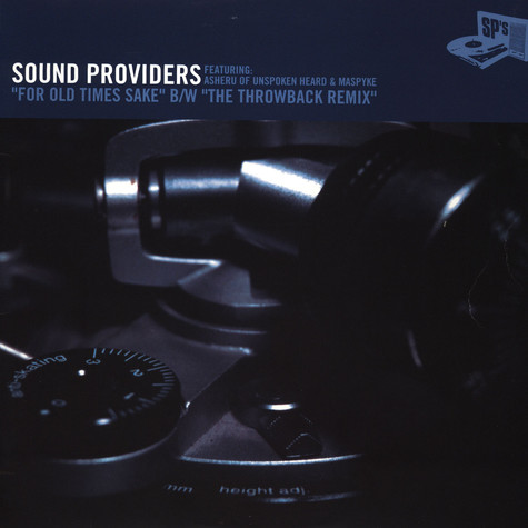 Sound Providers - For old times sake