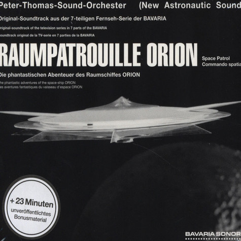 Peter Thomas Sound Orchester - OST Raumpatrouille Orion