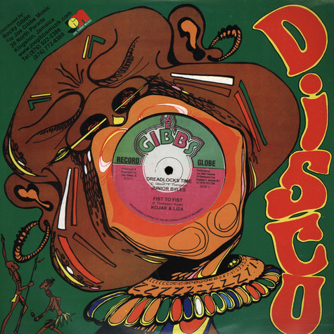 Jr. Byles; Kojak & Liza / Joe Gibbs & The Professionals - Dreadlocks Time; Fist To Fist / Foot To Foot