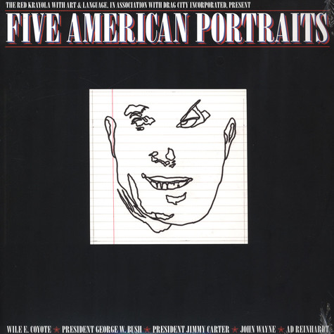Red Krayola With Art And Language - Five American Portraits