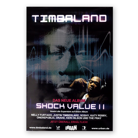 Timbaland - Shock Value 2 Poster
