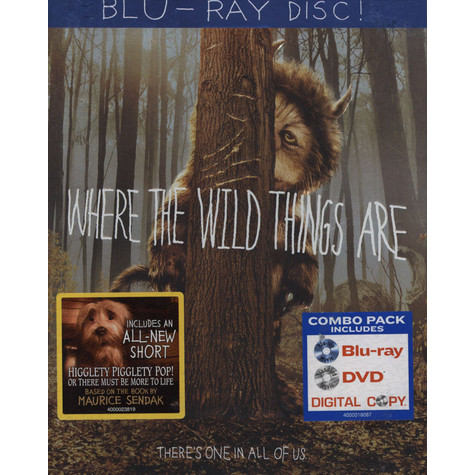 Where The Wild Things Are - The Movie (Blu-Ray Disc)