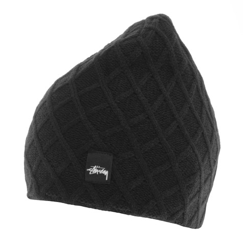 5727effcc39 Stüssy - Mini Diamond Beanie (Black)