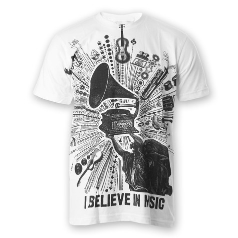 Imaginary Foundation - I Believe In Music T-Shirt