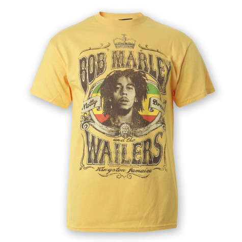 Bob Marley - Natty Dread Crown T-Shirt