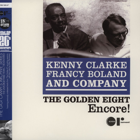 Kenny Clark, Francy Boland & Co - The Golden Eight Encore