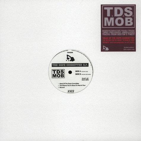 TDS Mob - Dope Committee EP