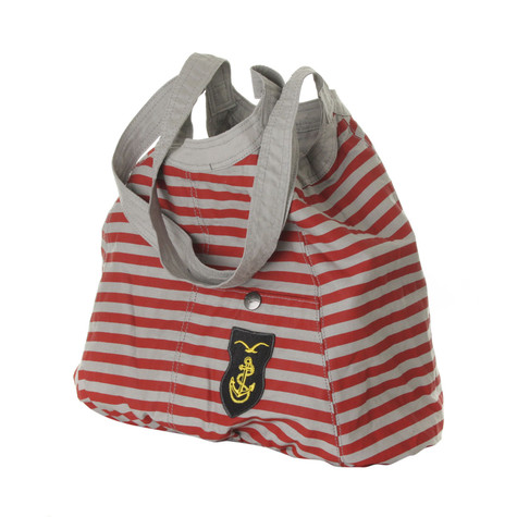 Cleptomanicx - Cate Stripes Reversible Bag