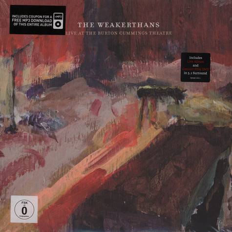 Weakerthans, The - Live At Burton Cummings Theatre