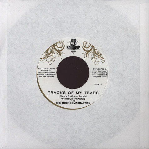 Winston Francis & The Cookoomackastick - Tracks Of My Tears
