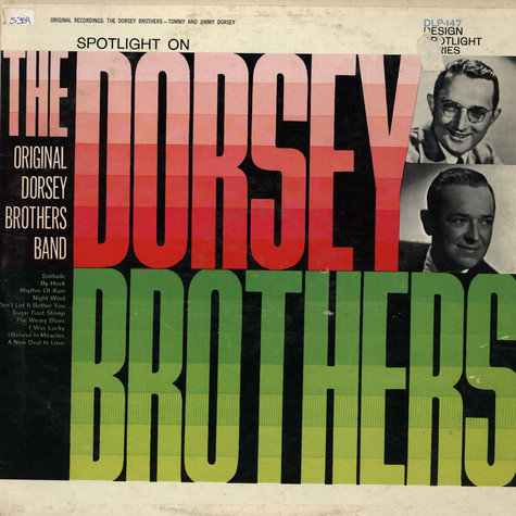 Dorsey Brothers - Spotlight On Original Dorsey Brothers