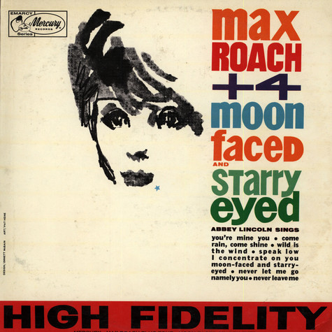Max Roach Plus Four - Moon-Faced And Starry-Eyed