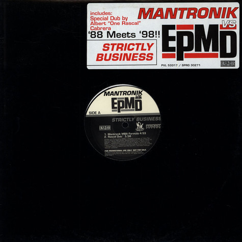 Mantronik vs EPMD - Strictly business