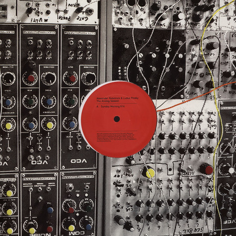 Alexander Robotnick & Ludus Pinsky - The Analog Session
