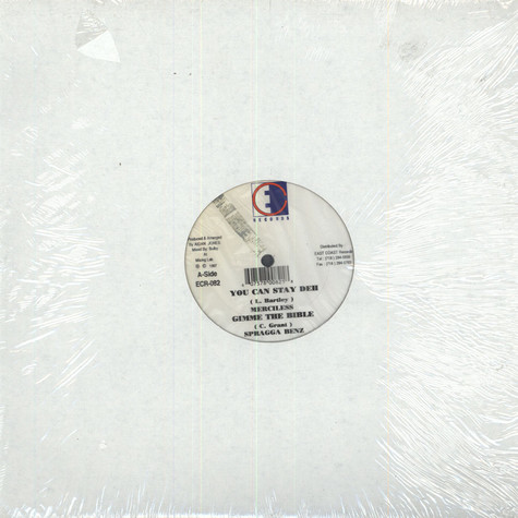 Merciless/ Spragga Benz/ Sanchez - You can stay deh/ Gimme The Bible/ Do it for Love