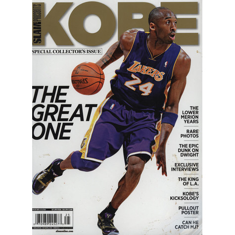 Slam Magazine presents Kobe & Lebron - Special Collector's Issue