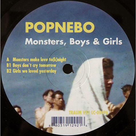 Popnebo - Monsters, Boys & Girls