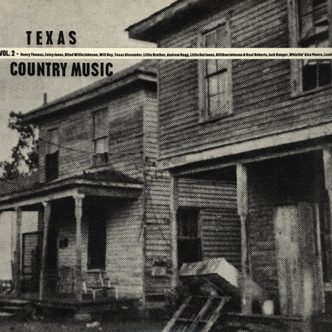 V.A. - Texas Country Blues Music Volume 2